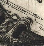Engraving Le glaive - Detail 2